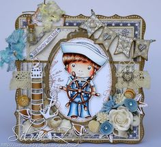 La-La Land Crafts - Sailor Luka card by Silvie Z.