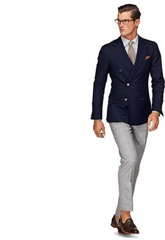 Jacket Navy Plain Soho C540ae | Suitsupply Online Store