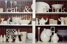 White Ceramic Arrangement.