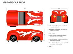 grease lightning car prop - Google Search