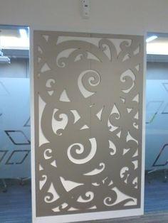 Window Laser Cutting Decoration Location: Pertamina EP Include: Installation
