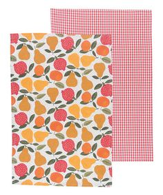 Another great find on #zulily! Grove Dish Towel - Set of Two #zulilyfinds