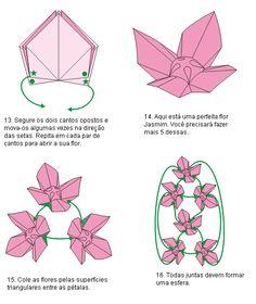 Cactus Origami Diagram