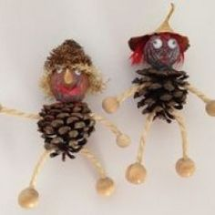 Autumn Crafts, Nature Crafts, Thanksgiving Crafts, Diy Crafts For Kids, Halloween Crafts, Gifts For Kids, Christmas Crafts, Arts And Crafts, Christmas Decorations