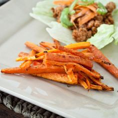 Carrot Stick Fries - Sweet Treats and More (September 16, 2011 - http://morselsoflife.com/five-friday-finds-13.html)