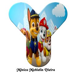 Paw Patrol Decorations, Printable Alphabet Letters, Topper, Sonic The Hedgehog, Banner, Lettering, Disney, Kids, Fictional Characters