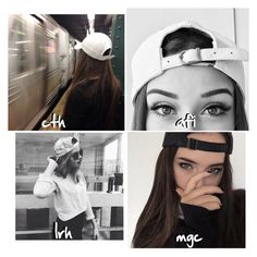 """""""He takes a picture of you in a SnapBack!;"""" by x5sos-preferences ❤ liked on Polyvore featuring art"""