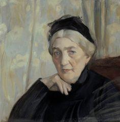 Magnus Enckell b. 1870-11-09 Hamina d. 1925-11-27 Tukholma Mother of the Artist 1904 (c) Finnish National Gallery