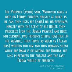 Sahih al-Bukhari, Friday Prayer Book 11, Hadith 8