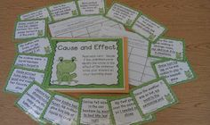 Cause and Effect Relationships and a Freebie for You!