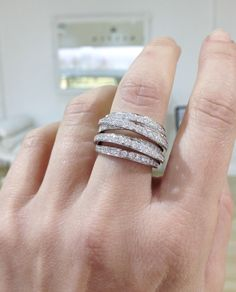 Diamond Dress Ring by Kalfin Jewellery...#kalfinjewellery #diamonds #jewellery #melbournejewellery #weddingring #gentsring #bride #love #picoftheday #diamondring #diamondengagementring #couture #style #blingbling #fashion #fashionblogger #detail #luxury #design #whattowear