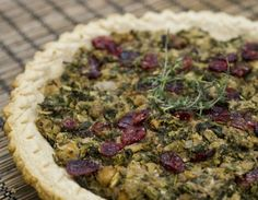 Festive Chickpea Tart, from Humane Society International
