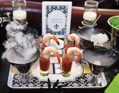 {New Orleans Style} Adult Halloween Voodoo Party #halloween #partycrafters