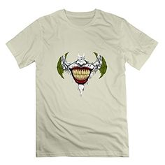 WAYNEY Custom Batman Dark Knight Joker Shirt For Mens Natural X-Large