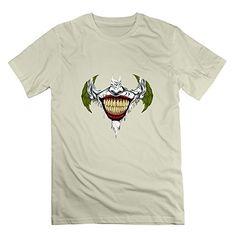 WAYNEY Custom Batman Dark Knight Joker Shirt For Mens Natural X-Large