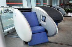Abu Dhabi airport installs sleeping pods