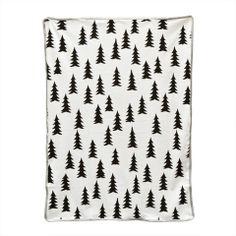 Mini & Beau - Fine Little Day Gran Baby Blanket Grey Edge | Mini & Beau