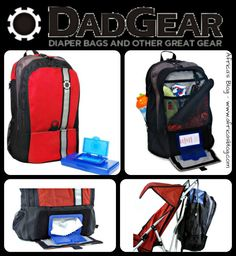 DadGear Backpack Diaper Bag ~ Product Review