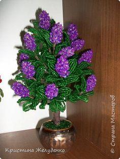 http://stranamasterov.ru/node/832982?tid=2061 Bonsai Topiary Beading Lilac Beads