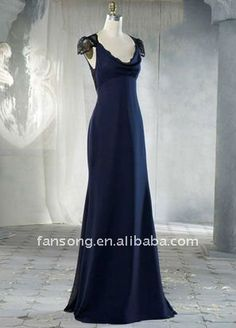 Vintage style Bridesmaid dress (front)