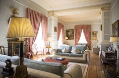 The Drawing Room at Tankardstown House. Wedding Photography by Julie Cummins,