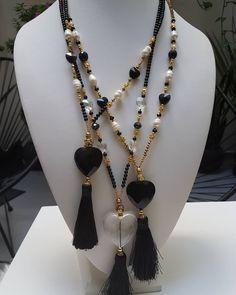 #tassel #etsy #fashionnecklaces #heartsnecklace #tassel