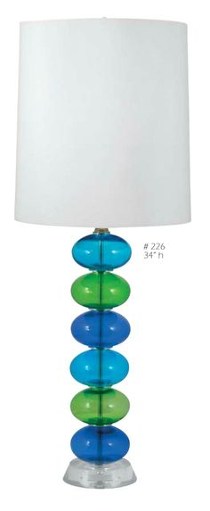 Sea Glass Float Lamp - Beaux 6