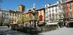 Plaza Nueva.  Granada, Spain