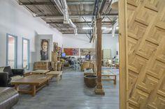 מחיצת עץ דקורטיבית | Decorative acoustic panels by Marc Backhausen