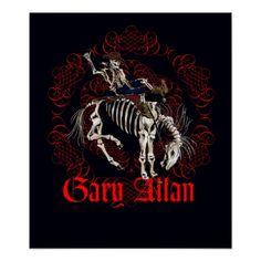 Gary Allan - Bronco Poster
