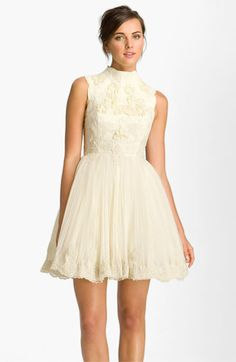 Ted Baker London 'Telago' Embroidered Tulle Frock @Nordstrom #WeddingSuite #Nordstrom