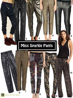Miss Sparkle Pants- need!