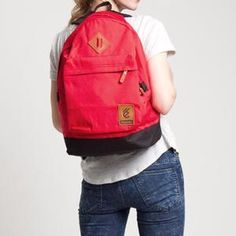 ESGOTADO CORDURO SEGUNDO RED Herschel Heritage Backpack, Backpacks, Bags, Fashion, Handbags, Moda, Fashion Styles, Backpack, Fashion Illustrations