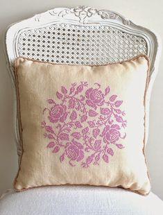 Garland of Roses Pillow