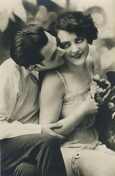 1920s risque postcard