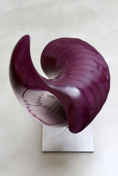 "Infini Mauve, 2014 #Sculpture - Christina Jékey, M2, 2012. Christina's passion led her in 2002 at the Royal Academy of Fine Arts of Brussels where she obtained her master's degree magna cum laude. Several sculptures are part of the film set in the new movie of Stefan Liberski ""Tokyo fiancée""(...). www.spotuart.com/... #onlineartgallery - #contemporaryart - #artwork - contemporary art - online art gallery"