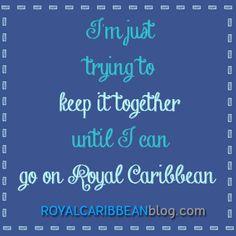 Story of my life! #cruise #travel #royalcaribbean