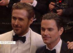 Matt Bomer & Ryan Gosling - Cannes Film Festival, 2016