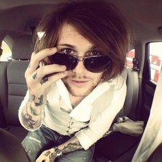Danny Worsnop <3 love this picture of him!