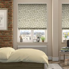 Blomma Kiwi Roman Blind from Blinds Natural Roman Blinds, House Blinds, Blinds For Windows, Window Blinds, Stairs Window, Kiwi, Vertical Blinds Cover, Cortinas Rollers, Houses