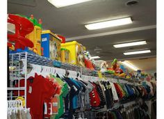 Clothes and toys