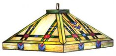 Meyda Tiffany Ceiling Lights Mission Arts and Crafts Southwest Prairie Wheat Pendant - 19028