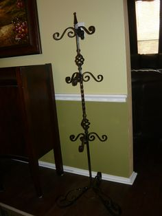 iron purse rack old world home decor hand made and finished