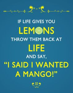 #lemon #quote