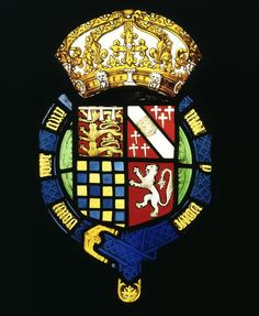 The shield depicts the arms of Thomas Howard, 3rd Duke of Norfolk (1473-1554), 1514-1550.