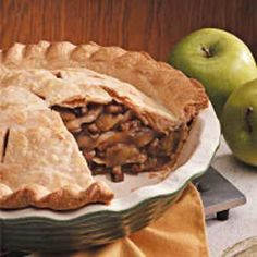 Walnut Apple Pie Recipe -Adding walnuts gives a slight twist to traditional apple pie recipes and adds a unique flavor we really enjoy.