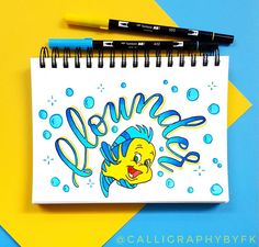 Tombow, Challenge, Lettering, Day, Disney, Instagram Posts, Letters, Texting, Disney Art