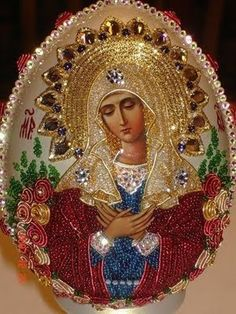 Very beautiful Russian icon