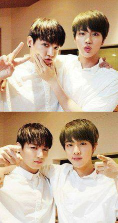 I love these lovable handsome guys 😍💗💗 Namjin, Bts Ships, Seokjin, Hoseok, Taehyung, Jungkook And Jin, About Bts, Worldwide Handsome, Bts Korea