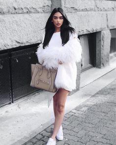white street fashion.
